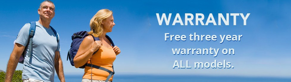 Warranty - Free 3 year warranty on ALL hearing aid models.
